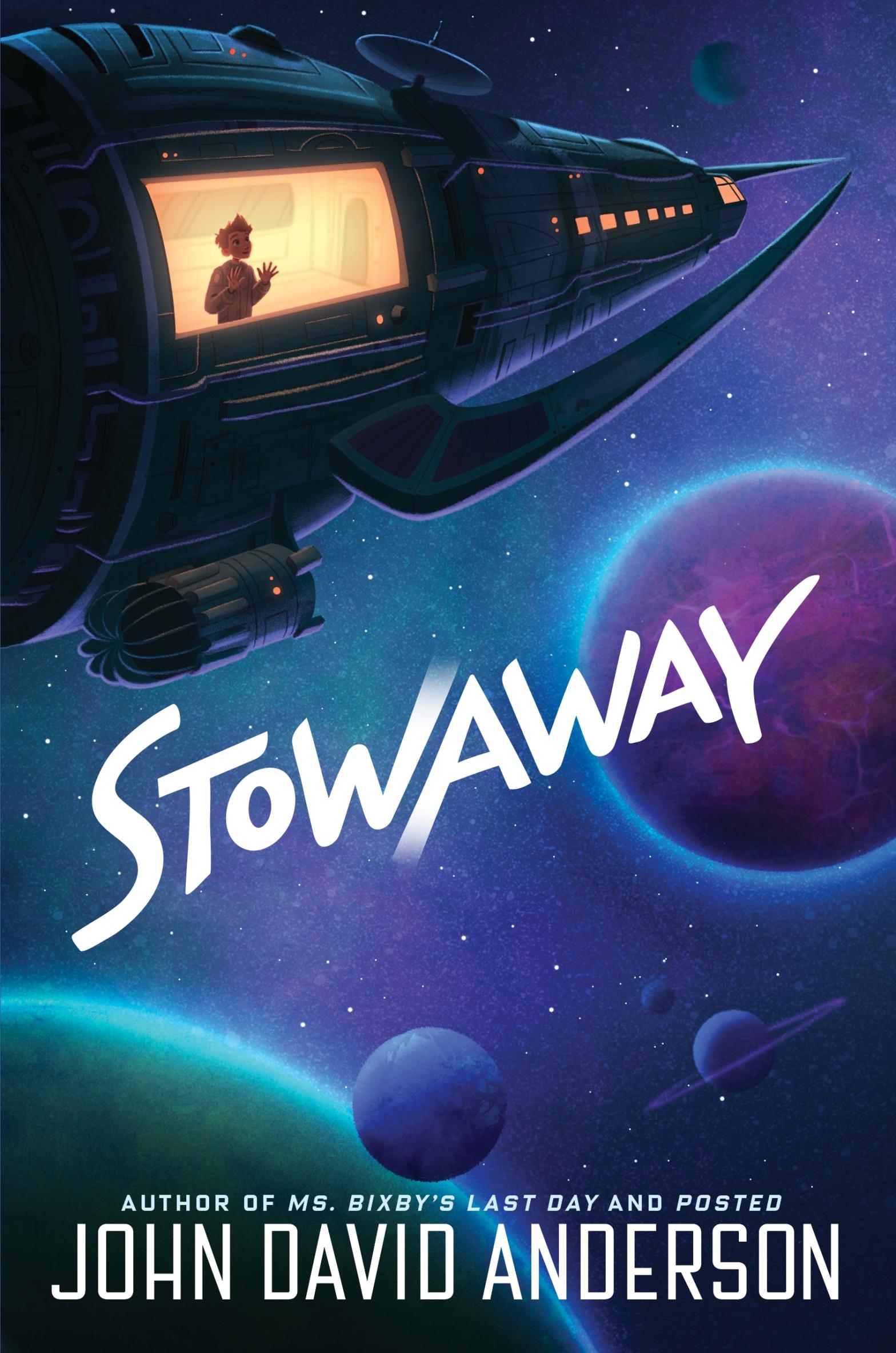 Cover of Stowaway Novel