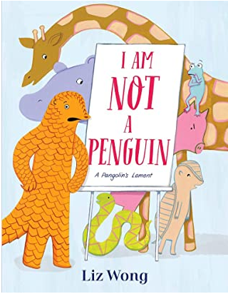 I'm Not a Penguin Book Cover